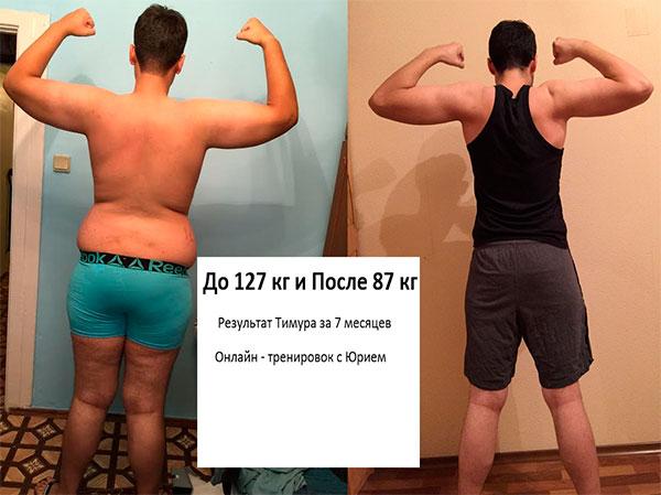 программа тренировок для набора мышечной